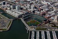 aerial photograph the Giants stadium, San Francisco, California