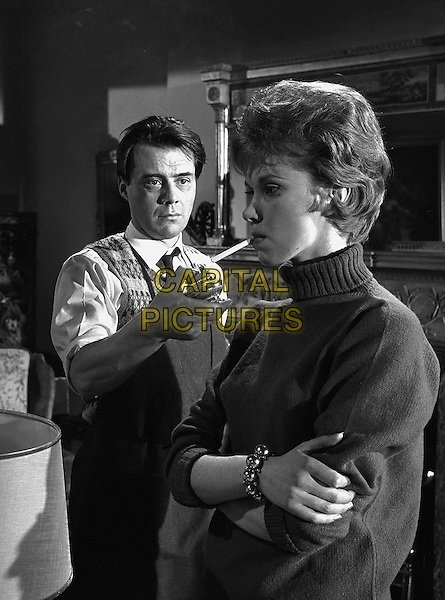 Dirk Bogarde, Wendy Craig<br /> in The Servant (1963) <br /> *Filmstill - Editorial Use Only*<br /> CAP/NFS<br /> Image supplied by Capital Pictures