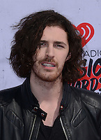 Hozier @ the 2016 iHeart Radio Music awards held @ the Forum.<br /> April 3, 2016
