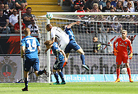 Kopfballchance Kevin-Prince Boateng (Eintracht Frankfurt) - 05.05.2018: Eintracht Frankfurt vs. Hamburger SV, Commerzbank Arena, 33. Spieltag Bundesliga