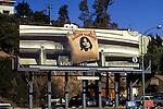 Billboard for Jackson Browne debut album on the Sunset Strip circa 1972