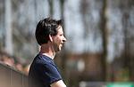 AMSTELVEEN - Hockey - Hoofdklasse competitie dames. AMSTERDAM-DEN BOSCH (3-1) . coach Raoul Ehren (Den Bosch) tijdens de wedstrijd.  COPYRIGHT KOEN SUYK