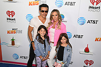 Teddi Mellencamp and husband Edwin Arroyave and family at the Wango Tango by AT&T at Banc of California Stadium 06/03/18