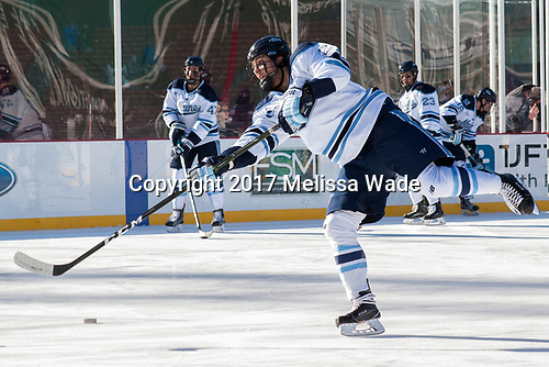 Patrick Holway (Maine - 2) - The University of Maine Black Bears defeated the University of Connecticut Huskies 4-0 at Fenway Park on Saturday, January 14, 2017, in Boston, Massachusetts.