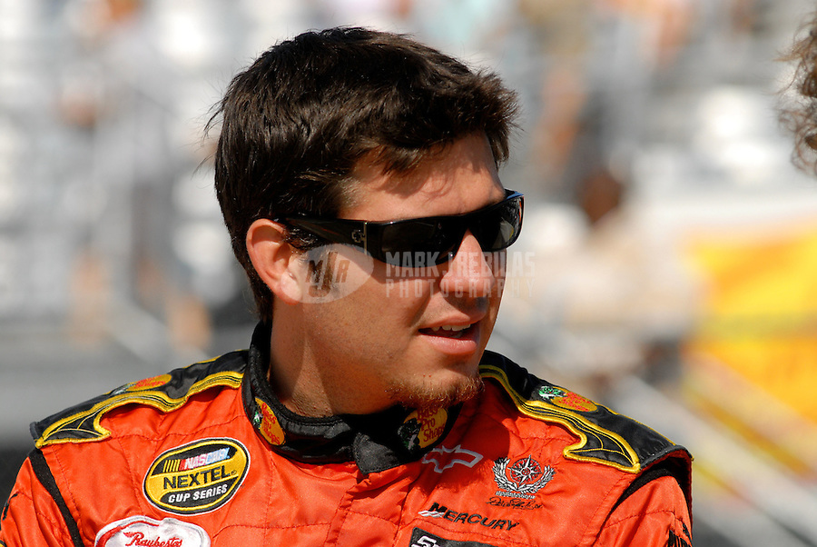 Aug. 12, 2006; Watkins Glen, NY, USA; Nascar Nextel Cup driver Martin Truex Jr (1) during practice for the AMD at the Glen. Mandatory Credit: Mark J. Rebilas.