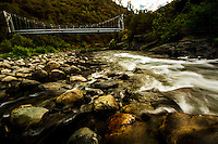 Merced River Canyon  <br /> Briceburg Bridge.