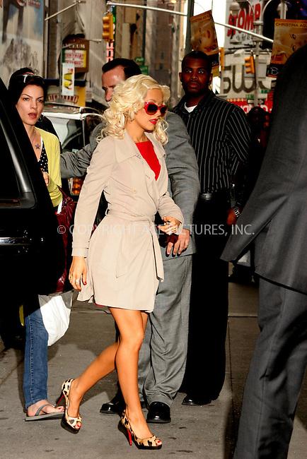 WWW.ACEPIXS.COM . . . . .  ....August 16, 2006, New York City. ....Christina Aguilera arrives at MTV's TRL. ....Please byline: NANCY RIVERA- ACE PICTURES.... *** ***..Ace Pictures, Inc:  ..Philip Vaughan (212) 243-8787 or (646) 769 0430..e-mail: info@acepixs.com..web: http://www.acepixs.com