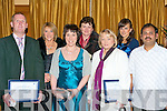 THE BONS SOCIAL: Attending the Bons social the Ballygarry House Hotel and Spa on Saturday l-r: Chris Brennan, Margaret Carlin, Thersa Gaynor, Eileen O'Shea, Marion Reidy, Helen Hussey and Sasikumar Soundararajan..