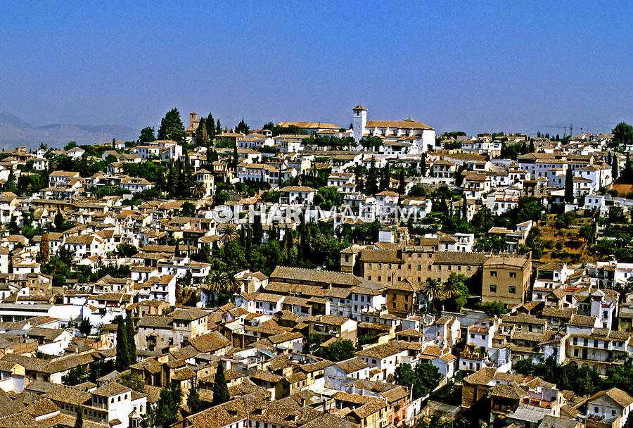 Cidade de Granada. Espanha. 1998. Foto de Maristela Colucci.