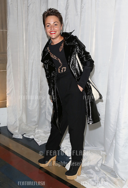 Jaime Winestone arriving for the Pam Hogg London Fashion Week, SS2013.London. 17/09/2012 Picture by: Henry Harris / Featureflash.......