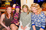 Pictured at the Abba Tribute night held in the Railway bar Abbeyfeale on Sunday night was L-R: Kiki Prendivelle, Kerry-lee Doyle, Karen Brodrick and Deidre Doyle, Abbeyfeale.