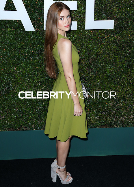 BEVERLY HILLS, CA, USA - OCTOBER 02: Holland Roden arrives at Michael Kors Launch Of Claiborne Swanson Franks's 'Young Hollywood' Book held at a Private Residence on October 2, 2014 in Beverly Hills, California, United States. (Photo by Xavier Collin/Celebrity Monitor)