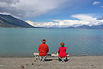IMAGES OF THE YUKON,CANADA , KLUANE LAKE