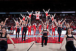 March 3, 2010: Wisconsin Badgers spirit squads perform during a Big Ten Conference NCAA basketball game against the Iowa Hawkeyes on March 3, 2010 in Madison, Wisconsin. The Badgers won 67-40. (Photo by David Stluka)