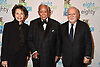 Marilyn Berger, Mayor David Dinkins and Vartan Gregorian attend The New Jewish Home Gala Honoring 8 Over 80 on March 12, 2018 at the Ziegfeld Ballroom in New York, New York, USA.<br /> <br /> photo by Robin Platzer/Twin Images<br />  <br /> phone number 212-935-0770