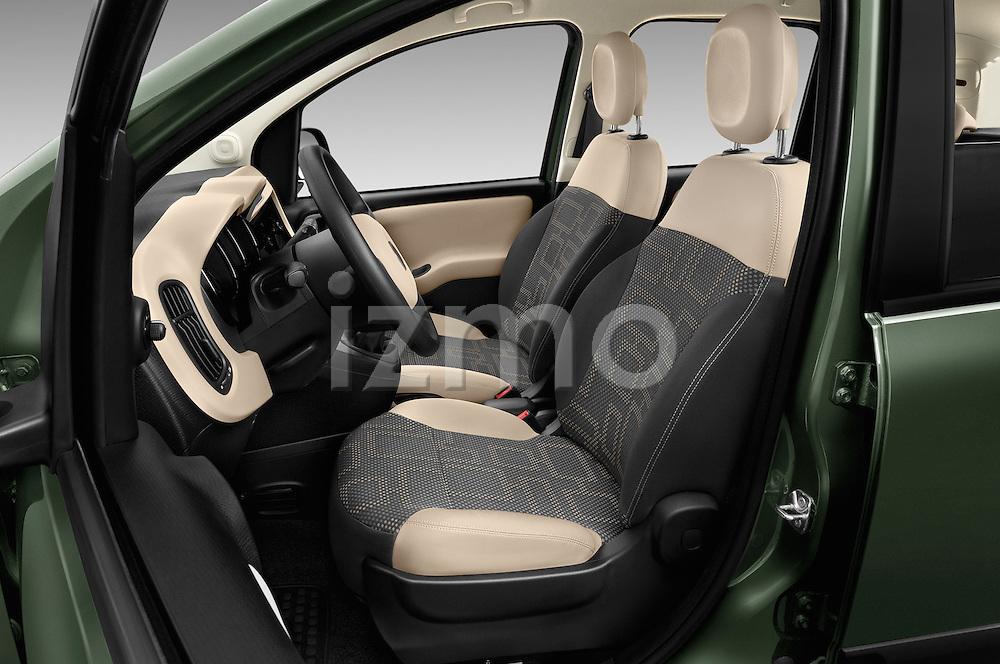 Front seat view of 2016 Fiat Panda-4X4 Pop 5 Door Hatchback Front Seat  car photos