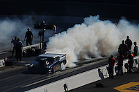 Apr. 14, 2012; Concord, NC, USA: NHRA top sportsman driver XXXX during qualifying for the Four Wide Nationals at zMax Dragway. Mandatory Credit: Mark J. Rebilas-