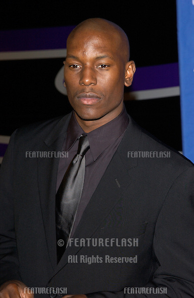 TYRESE at the 33rd Annual NAACP Image Awards at Universal Studios, Hollywood..23FEB2002. © Paul Smith/Featureflash