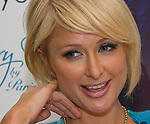 031409tvinterviewportraitayTHREE.Paris Hilton during a private interview session for local media..BND/TIM VIZER