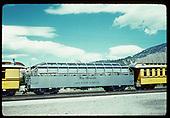 Rio Grande &quot;Silver Vista&quot; observation car #313, Durango<br /> D&amp;RGW  Durango, CO