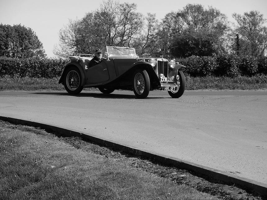 MG-TC Sports Cars - 1946