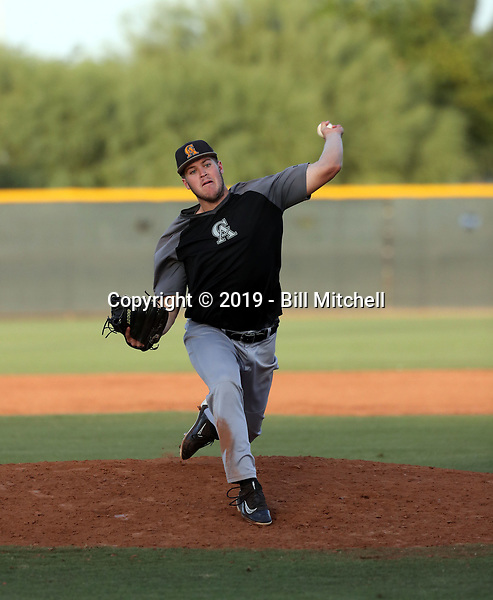 Calvin Schapira - 2019 Central Arizona College Vaqueros - fall season (Bill Mitchell)