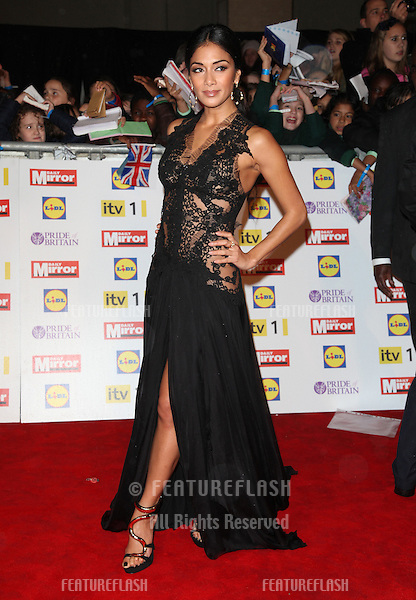 Nicole Scherzinger arriving for the 2012 Pride of Britain Awards, at the Grosvenor House Hotel, London. 29/10/2012 Picture by: Alexandra Glen / Featureflash