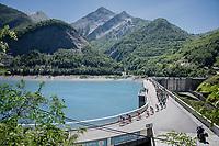 across the water dam<br /> <br /> stage 7: Aoste &gt; Alpe d'Huez (168km)<br /> 69th Crit&eacute;rium du Dauphin&eacute; 2017