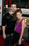 """HOLLYWOOD, CA. - April 14: Crawford Wilson and Samantha Droke arrive at the premiere of Warner Bros. """"17 Again"""" held at Grauman's Chinese Theatre on April 14, 2009 in Hollywood, California."""