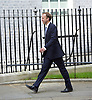 Downing Street after meetings at The House of Commons to appoint new government ministers<br /> 11th May 2015 <br /> <br /> new cabinet ministers arriving or leaving 10 Downing Street <br /> <br /> Matthew Hancock arriving in Downing Street after being give the role of Minister for the Cabinet Office<br /> <br /> Photograph by Elliott Franks <br /> Image licensed to Elliott Franks Photography Services