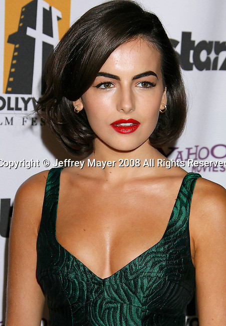 BEVERLY HILLS, CA. - October 27: Actress Camilla Belle arrives at the 12th Annual Hollywood Film Festival Awards Gala at the Beverly Hilton Hotel on October 27, 2008 in Beverly Hills, California.