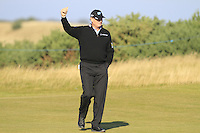Ernie Els (RSA) on the 11th fairway during Round 2 of the 2015 Alfred Dunhill Links Championship at Kingsbarns in Scotland on 2/10/15.<br /> Picture: Thos Caffrey | Golffile