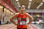 NAPERVILLE, IL - MARCH 11: Chelsea Gilles of Greenville College looks on after the women's 400 meter dash at the Division III Men's and Women's Indoor Track and Field Championship held at the Res/Rec Center on the North Central College campus on March 11, 2017 in Naperville, Illinois. (Photo by Steve Woltmann/NCAA Photos via Getty Images)
