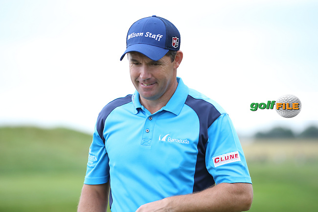 Padraig Harrington (IRL) makes birdie on the 14th during the Final Round of the 100th Open de France, played at Le Golf National, Guyancourt, Paris, France. 03/07/2016. Picture: David Lloyd | Golffile.<br /> <br /> All photos usage must carry mandatory copyright credit (&copy; Golffile | David Lloyd)