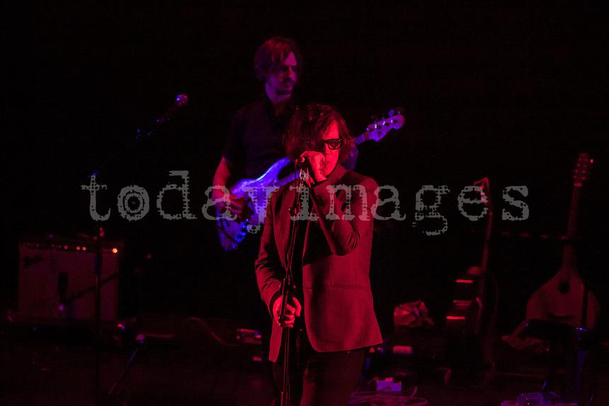 Mark Lanegan performs at Teatro nuevo Apolo in  Madrid