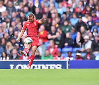 Wales's Gareth Davies converts his sides second try <br /> <br /> Kenya Vs Wales - men's placing 5-8 match<br /> <br /> Photographer Chris Vaughan/CameraSport<br /> <br /> 20th Commonwealth Games - Day 4 - Sunday 27th July 2014 - Rugby Sevens - Ibrox Stadium - Glasgow - UK<br /> <br /> © CameraSport - 43 Linden Ave. Countesthorpe. Leicester. England. LE8 5PG - Tel: +44 (0) 116 277 4147 - admin@camerasport.com - www.camerasport.com