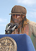 .Boyd Tinsley of The Dave Matthews Band..at the announcement of Dave Matthews Band concert on September 12, 2003 in Central Park. The concert will be in .Central Park on September 24, 2003. Photo By Robin Platzer, Twin Images