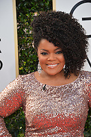 Yvette Nicole Brown at the 74th Golden Globe Awards  at The Beverly Hilton Hotel, Los Angeles USA 8th January  2017<br /> Picture: Paul Smith/Featureflash/SilverHub 0208 004 5359 sales@silverhubmedia.com