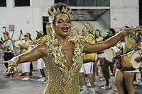 SÃO PAULO,SP,02.02.2019 - CARNAVAL-SP - Savia David no ensaio Técnico Geral da escola de samba Unidos de Vila Maria, no sambódromo do Anhembi localizado na zona norte de São Paulo na noite deste sábado, 02. (Foto:Nelson Gariba /Brazil Photo Press)