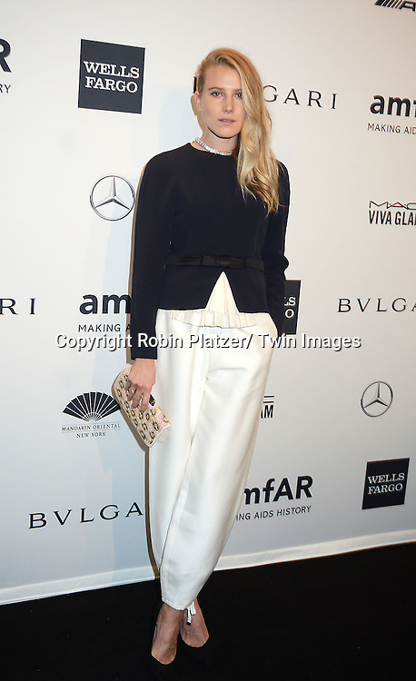 Dree Hemingway attends the amfAR New York Gala on February 5, 2014 at Cipriani Wall Street in New York City.