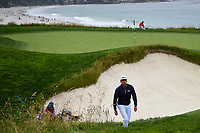 Rafael Cabrera Bello (ESP) heads to 10 during round 3 of the 2019 US Open, Pebble Beach Golf Links, Monterrey, California, USA. 6/15/2019.<br /> Picture: Golffile | Ken Murray<br /> <br /> All photo usage must carry mandatory copyright credit (© Golffile | Ken Murray)