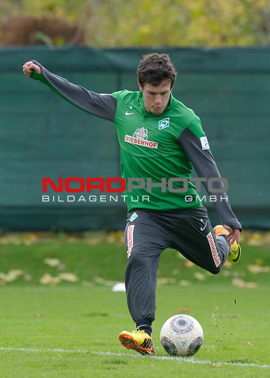 07.11.2013, Trainingsgelaende, Bremen, GER, 1.FBL, Training Werder Bremen, im Bild Zlatko Junuzovic (Bremen #16)<br /> <br /> Foto &copy; nph / Frisch