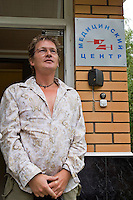 Odinitsovo, Russia, 26/06/2007..German heroin addict Christian Rambow at Doctor Zobin's Medical Centre For Drug And Alcohol Dependence. The centre, which uses radical therapy developed by the former military doctor to treat Russian soldiers who became addicted in Afghanistan, claims an 85% success rate in curing heroin addiction.