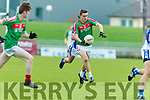 Kerins O'Rahillys in action against Matt Keane  Kilcummin Senior Football Championship Relegation Playoff in Austin Stack Park on Sunday