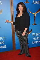 LOS ANGELES, CA. February 17, 2019: Cindy Caponera at the 2019 Writers Guild Awards at the Beverly Hilton Hotel.<br /> Picture: Paul Smith/Featureflash