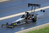 Jul, 21, 2012; Morrison, CO, USA: NHRA top fuel dragster driver Bob Vandergriff Jr during qualifying for the Mile High Nationals at Bandimere Speedway. Mandatory Credit: Mark J. Rebilas-US PRESSWIRE