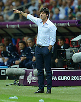 FUSSBALL  EUROPAMEISTERSCHAFT 2012   HALBFINALE Deutschland - Italien              28.06.2012 Trainer Joachim Loew (Deutschland)