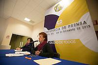 Querétaro, Qro. 29 de diciembre 2015. Esta mañana, la coordinadora de los institutos desconcentrados municipales ofreció una rueda de prensa. Foto: Alejandra L. Beltrán / Obture Press Agency