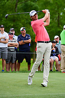 Sean O'Hair (USA) watches his tee shot on 11 during round 3 of the Shell Houston Open, Golf Club of Houston, Houston, Texas, USA. 4/1/2017.<br /> Picture: Golffile | Ken Murray<br /> <br /> <br /> All photo usage must carry mandatory copyright credit (&copy; Golffile | Ken Murray)