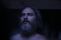 You Were Never Really Here (2017)  <br /> Joaquin Phoenix  <br /> *Filmstill - Editorial Use Only*<br /> CAP/KFS<br /> Image supplied by Capital Pictures